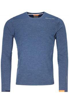 Ortovox Merinoterry Fleece Pullover blauw(123262978)