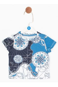 BG Baby Çok Renkli Erkek Bebek T-Shirt(114005775)