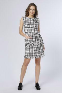 Beymen Studio Püskül Detaylı Pembe Elbise(113958192)