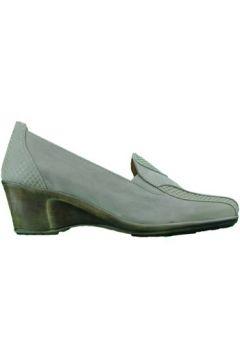 Chaussures Varese mocassino ballerina zeppa bassa donna beige(127916828)