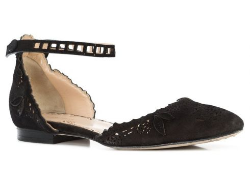 Marchesa Evie ballerina shoes - Noir(65461299)