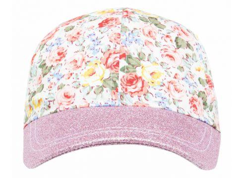DeFacto Kız Çocuk Çiçek Desenli Şapka(104879110)