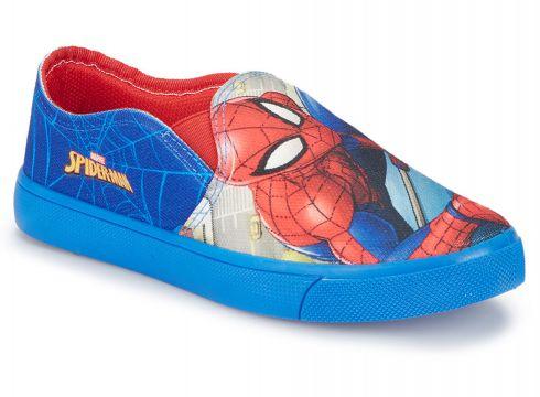 Spiderman TICKLE Lacivert Erkek Çocuk Slip On - FLO Ayakkabı(72776956)