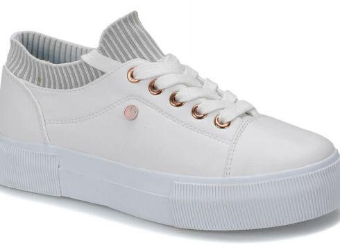Lumberjack Pixie Beyaz Kadın Ayakkabı - FLO Ayakkabı(77275519)