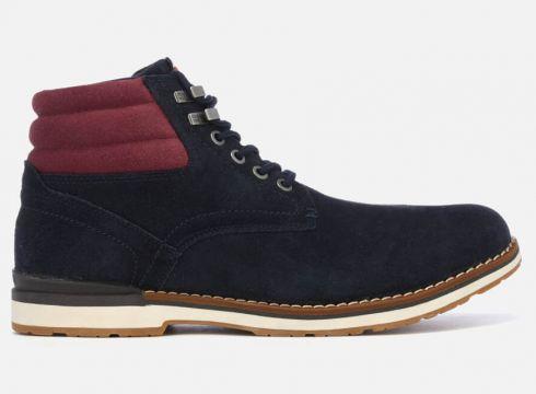 Tommy Hilfiger Men\'s Outdoor Suede Boots - Midnight - UK 7 - Blau(63035048)
