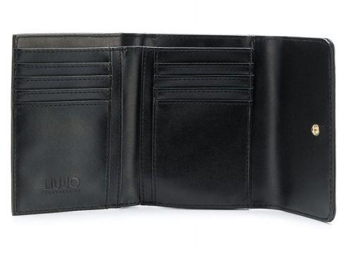 Liu Jo Isola trifold flap wallet - Noir(65989156)