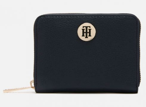 Tommy Hilfiger Women\'s Core Compact Wallet - Navy(90304343)
