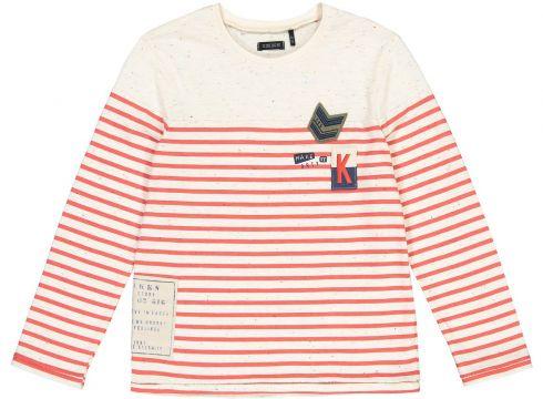 Camiseta de manga corta a rayas, 4-14 años(113798038)