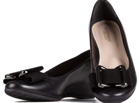 VALLEVERDE Kadın Siyah Toka Detaylı Ayakkabı(123748484)