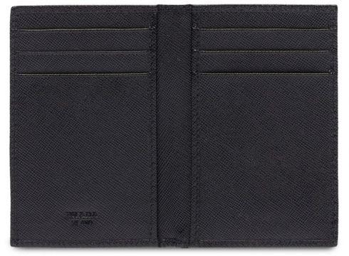 Prada Saffiano document holder - Noir(76646762)