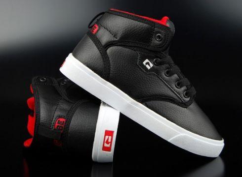 Globe Motley Kids Black/White/Dark Red Sneaker US5/EU37(77153253)