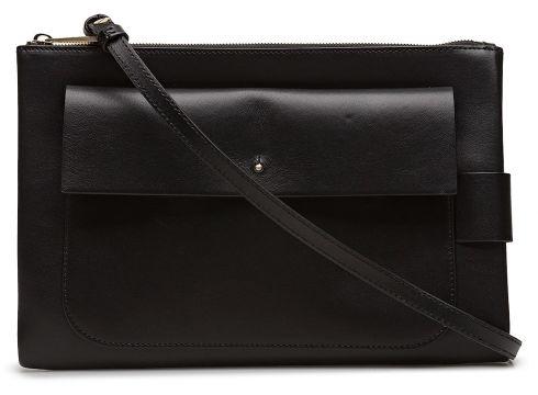 Ellie Leather Shoulder Bag Tasche Schwarz FILIPPA K(96252347)
