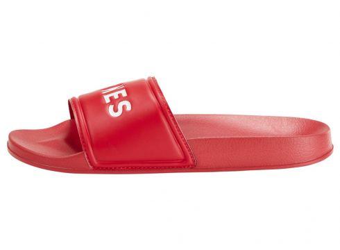JACK & JONES Pool Slider Sandals Herren Rot(83446331)