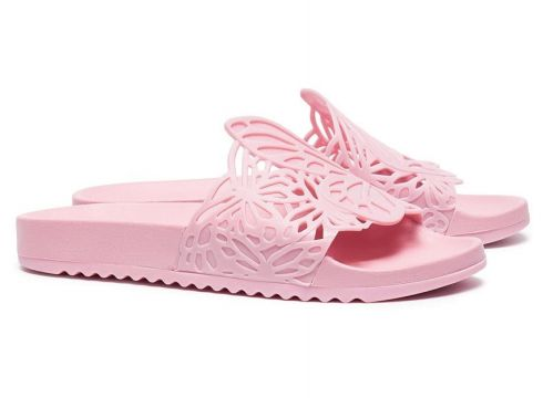 Sophia Webster claquettes Lia Butterfly - Rose(76493850)