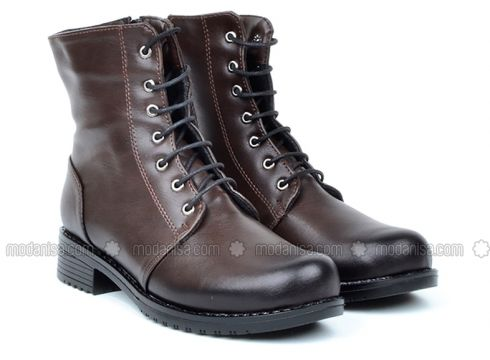Brown - Boot - Boots - Just Shoes(100922301)