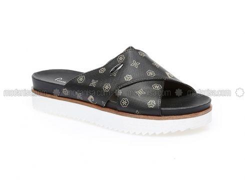 Black - Sandal - Slippers - Pierre Cardin(100924575)