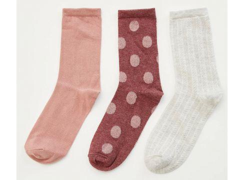 DeFacto Kadın 3\'lü Uzun Çorap(104991490)