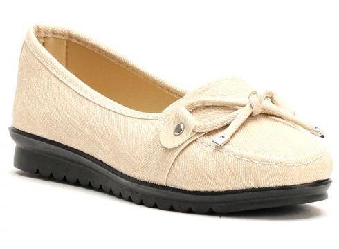 Chaussure Plate Ayakkabı Modası Beige(102869764)