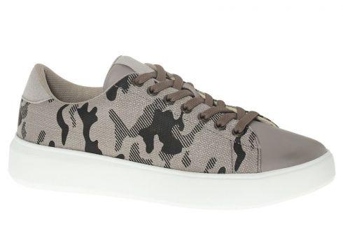 Memphis One Deichmann Gri Erkek Sneaker(120453599)