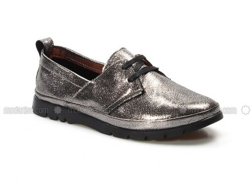 Silver Tone - Casual - Shoes - Fast Step(110317693)