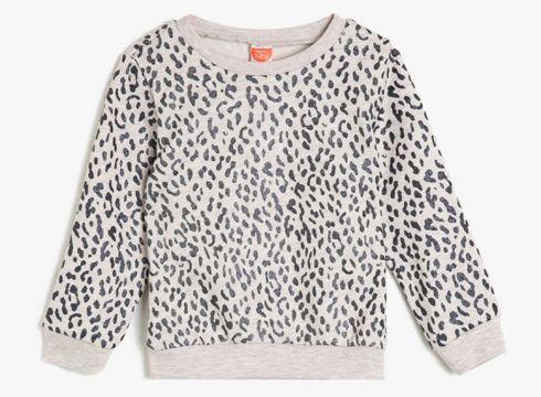 Koton Desenli Bej T-Shirt(113995785)