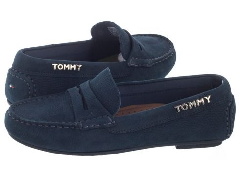 Mokasyny Colorful Tommy Moccasin FW0FW04398 403 Midnight (TH72-a)(114730614)