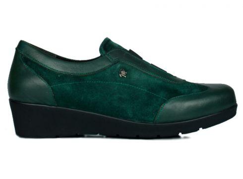 KİNG PAOLO Hakiki Deri Yeşil Kadın Ayakkabı(105148763)