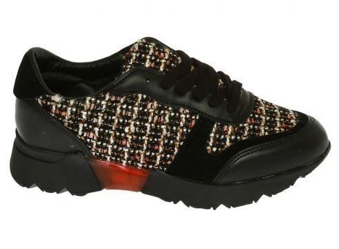 Black Pepper Siyah Düz Ayakkabı(123076158)
