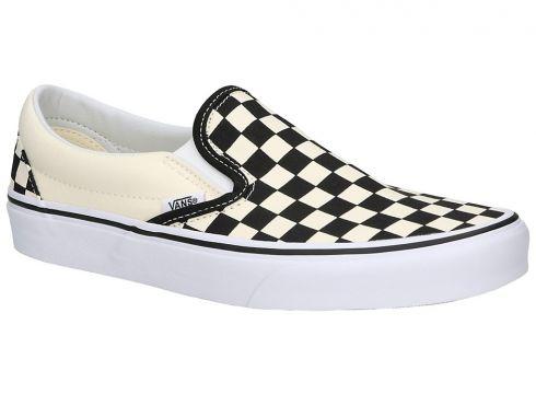 Vans Checkerboard Classic Slip-Ons zwart(85180036)