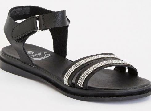 DeFacto Kız Çocuk Taşlı Sandalet(104883717)