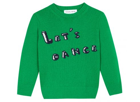 Pullover Lets Dance aus Wolle(119559826)
