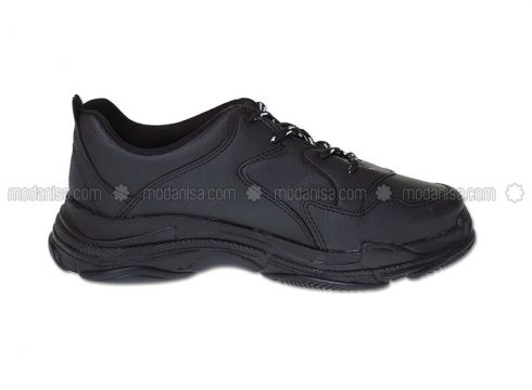 Black - Sport - Sports Shoes - Pasomia(110325733)