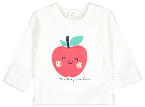 Camiseta de manga larga estampada, 1 mes-4 años(108523148)