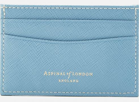 Aspinal of London Women\'s Slim Credit Card Case - Bluebird(78455647)