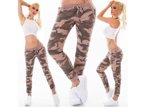 Sport Jogging-Hose im Army-Look(93574048)