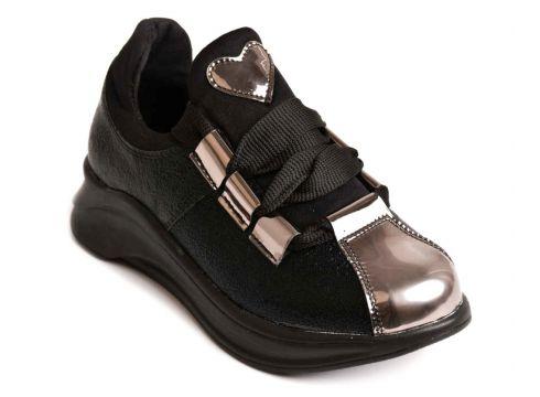 Sema Siyah Spor Ayakkabı 04-9K(105171792)
