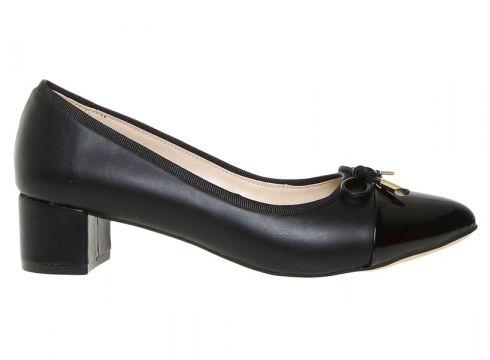 Fabrika Kadın Kalın Siyah Topuklu Ayakkabı(113968989)