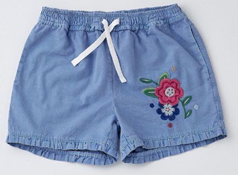 Shorts Pour Fille Wonder Kids Bleu Marine(102891105)
