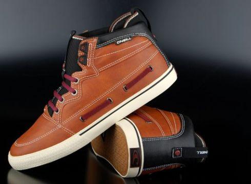 Oneill Sneaker Hightide Rust Red US7,5/EU40(77152735)