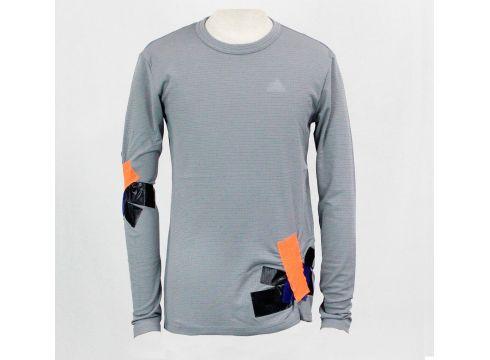 adidas Clmch Ls Tee Gri Erkek T-Shirt - FLO Ayakkabı(84071366)