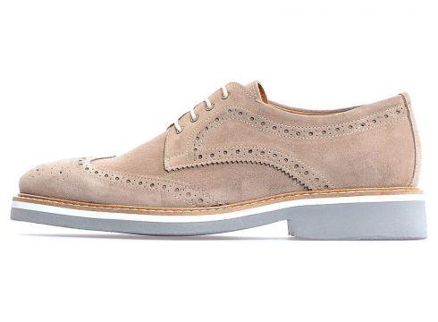 Flower Vizon Süet Bağcıklı Klasik Erkek Ayakkabı(118290049)
