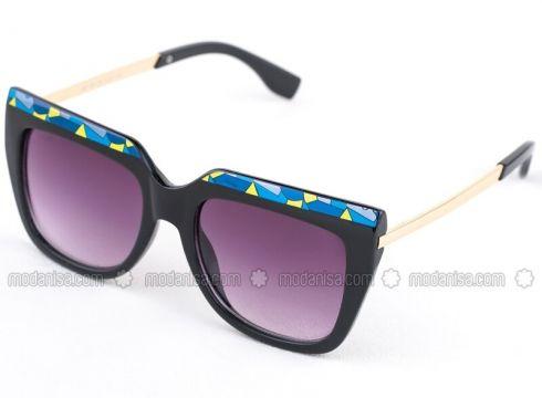 Black - Sunglasses - SİLVİO MONETTİ(100924830)