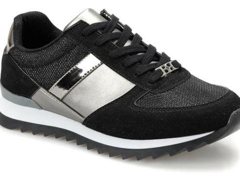 Butigo S1960-19iy Siyah Kadın Sneaker Ayakkabı - FLO Ayakkabı(84434949)