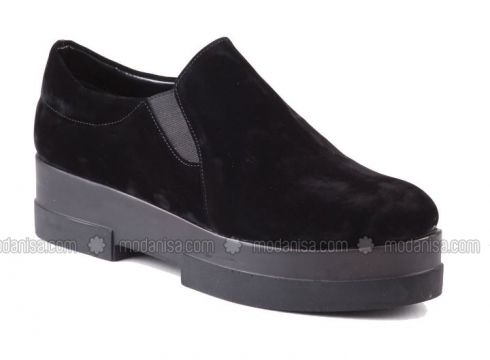 Shoes - Black - İnce Topuk(100916190)