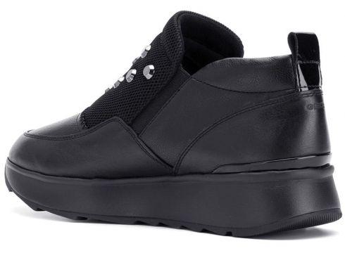 Geox side zipped sneakers - Noir(76540931)