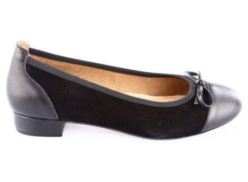 Ebru Siyah Süet Kadın Ayakkabı(110968348)