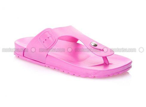 Pink - Sandal - Slippers - BFGMODA(100929121)