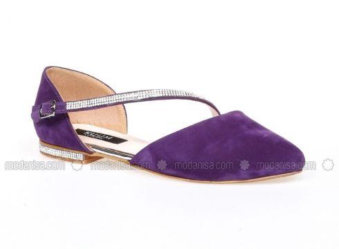 Purple - Flat - Shoes - Kuum(100927043)