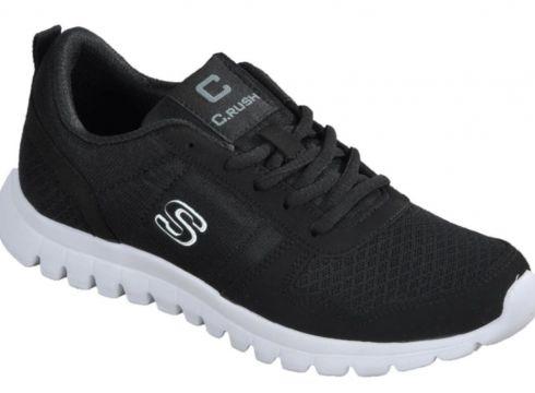 Crush 602 Siyah-beyaz Spor Ayakkabı(110937964)