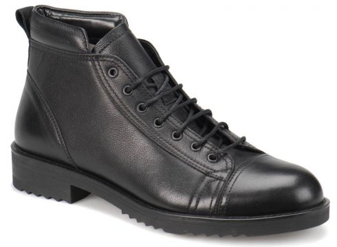 Oxide 4752 Siyah Erkek Deri City - FLO Ayakkabı(65174823)